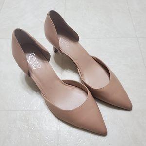 Franco Sarto Demille Nude Leather Shoe